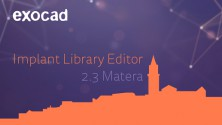 ExoCAD Implant Editor Crack