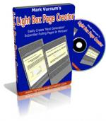 The Lightbox Page Creator Full Latest Version